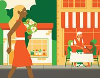 OneExchange Lifestyle Illustrations