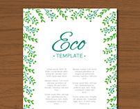 Ecological Template I | Designed for Freepik