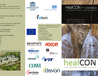 HealCON conference Self-healing concrete