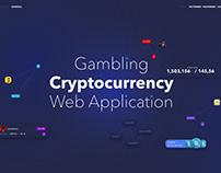 UX/UI Design Gambling Cryptocurrency Web Application