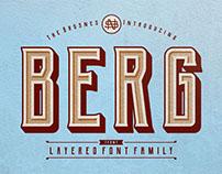 Berg Layered Font