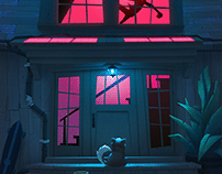 Funky Boy's home (night version)