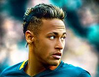 Neymar-Retouch