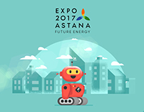 Save Green Energy - World Expo Astana 2017