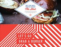 Burger Corner website  / USA /