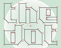 The dot font
