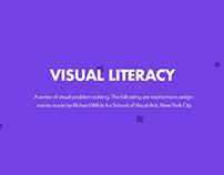 VISUAL LITERACY // SVA