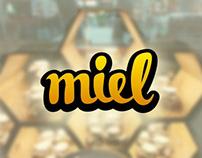 Logotype Miel