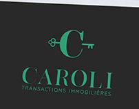 Création logo agence immobilière, graphiste Loolye Laba