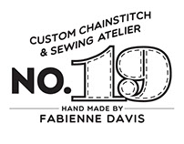 No. 19 Sewing Atelier Logo