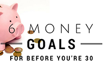6 Money Goals for Before You're 30
