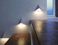 GEOMETRIC LIGHTS - TETRALAMP