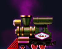 Rail Maze 2: Vegas