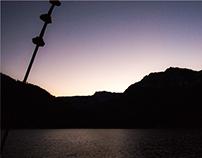 Sunset on Lake Tahoe