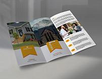 Clean Business Tri-Fold Brochure Design
