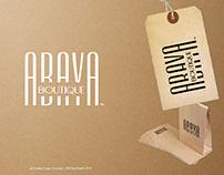 Abaya boutique logo design