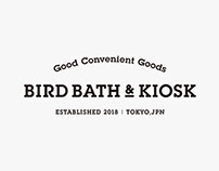 Art Direction for BIRD BATH & KIOSK