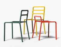 HUB - Prefabricated Chair