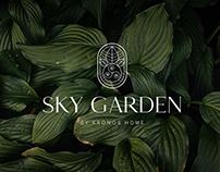 Sky Garden brand identity