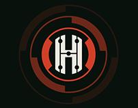 Logo concepts for Hustle Unltd.