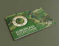 Europlast Product Catalogue Design