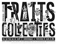 Traits Collectifs - fanzine - affiche - exposition