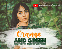 ORANGE and GREEN Preset for Photoshop