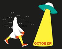 October — Illustration