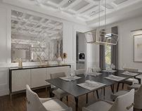 Dining Room Design & Rendering