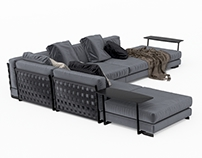 FLEXFORM - Cestone Sofa Set 2010