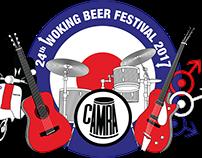Woking Beer Festival 2017 Logo
