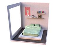 Tiny room