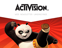 Activision - Web, newsletters y Landing page