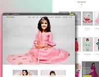 Child wear E-Commerce Website