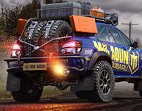 Subaru impreza wrc Dakar