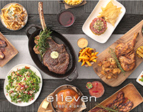 e11even New Menu Launch Campaign