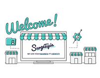 Surgetopia Brand Identity