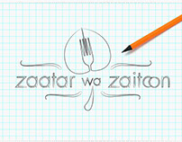 Zaatar wa Zaitoon | Logo Design | Owl Generation