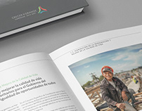 Diseño editorial 3er informe de gobierno de Campeche