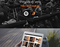 Direção de arte para instagram - Body Coach Club