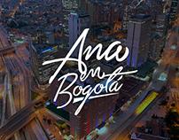 Ana en Bogotá - Logotipo