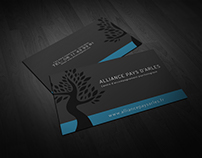 Business card / flyer (Alliance Pays d'Arles)