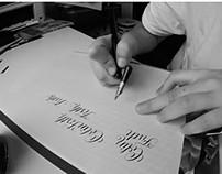 Calligraphy random