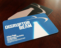 Disruptor Beam Business Cards