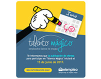 Email Marketing: elempleo Talento Mágico
