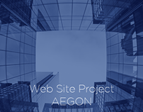 AEGON Web Site Project