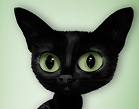 LOLA the cat vector project