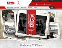 Elliotts 175 Campaign collateral