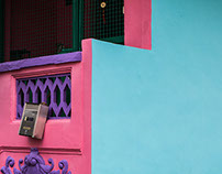 Walls of Joo Chiat