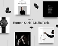 Human Social Media pack by Anton Blinkov